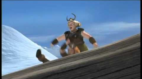 How To Train Your Dragon - snowboarding