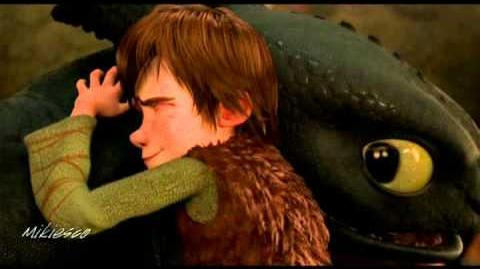 Gift of the Night Fury - Hiccup and Toothless - Gift of a Friend-1