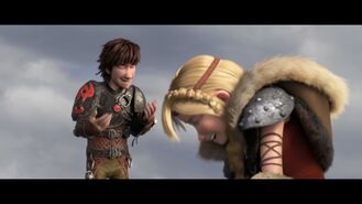 How To Train Your Dragon 2 - Hiccup & Astrid Official HD Clip - United Kingdom 45629