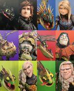 Como entrenar a tu dragon 3 imagen 2