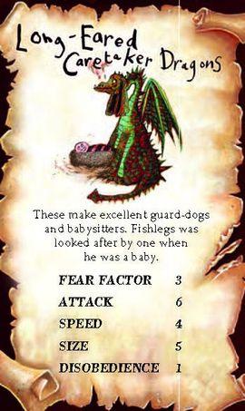 Long-Eared Caretaker Dragon