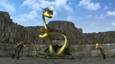 Como Treinar O Seu Dragão,Treinando O Dragão,Lição 4 - O Ziper Arrepiante
