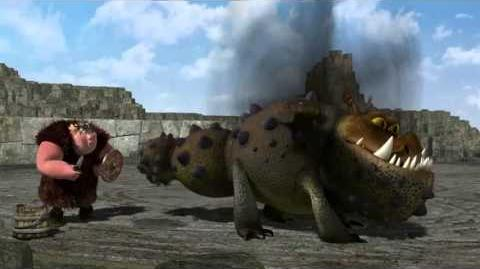 Como Treinar O Seu Dragão,Treinando o Dragão,Lição 2- O Gronckle