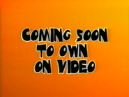 Coming Soon To Own On Video (Halloween 2001 Variant)