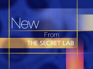 New from the Secret Lab