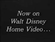 Now ON Walt Disney Home Video