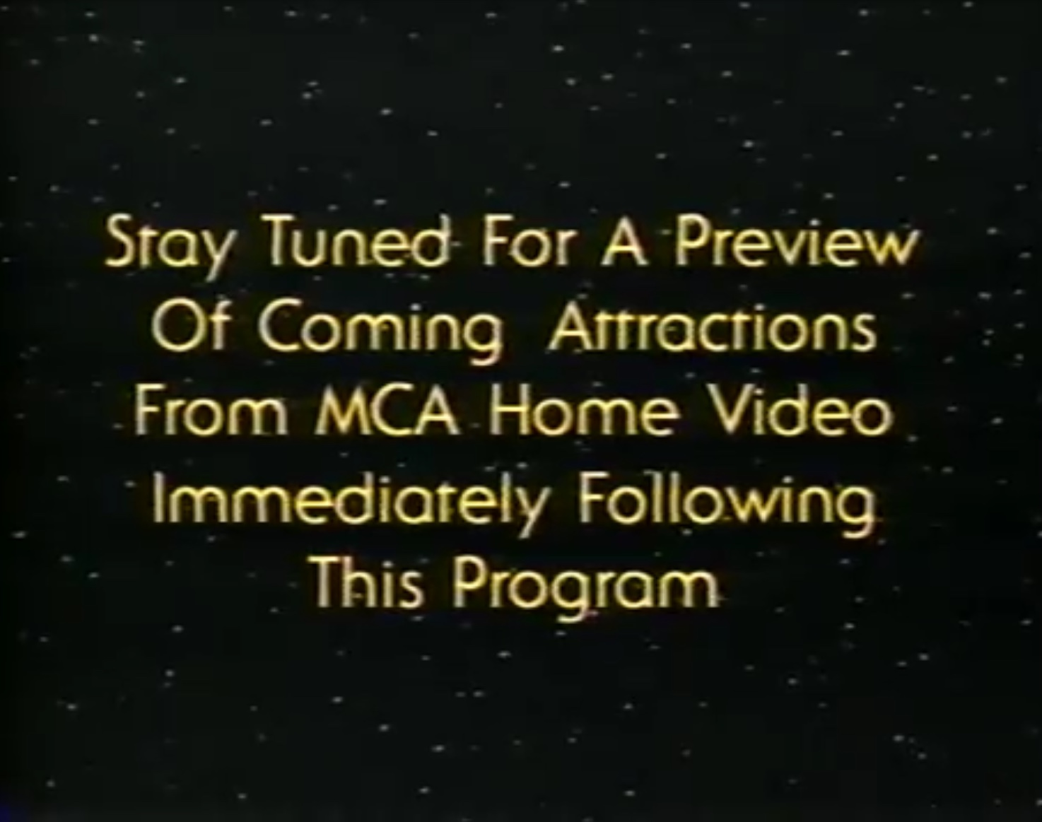 Universal Studios Home Entertainment Stay Tuned Ids Company Bumpers Wiki Fandom
