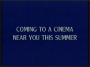 Coming to a cinema Near You This Summer Disney 1992 ID
