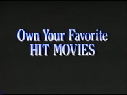 Own Your Favorite Hit Movies