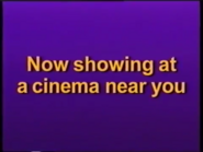 Now Showing at a cinema Near You Disney 1996 ID