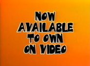 Now Available To Own On Video (Halloween 2001 Variant)