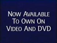 Now Available to Own on Video and DVD from Disney