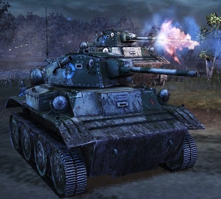 Tetrarch Tank