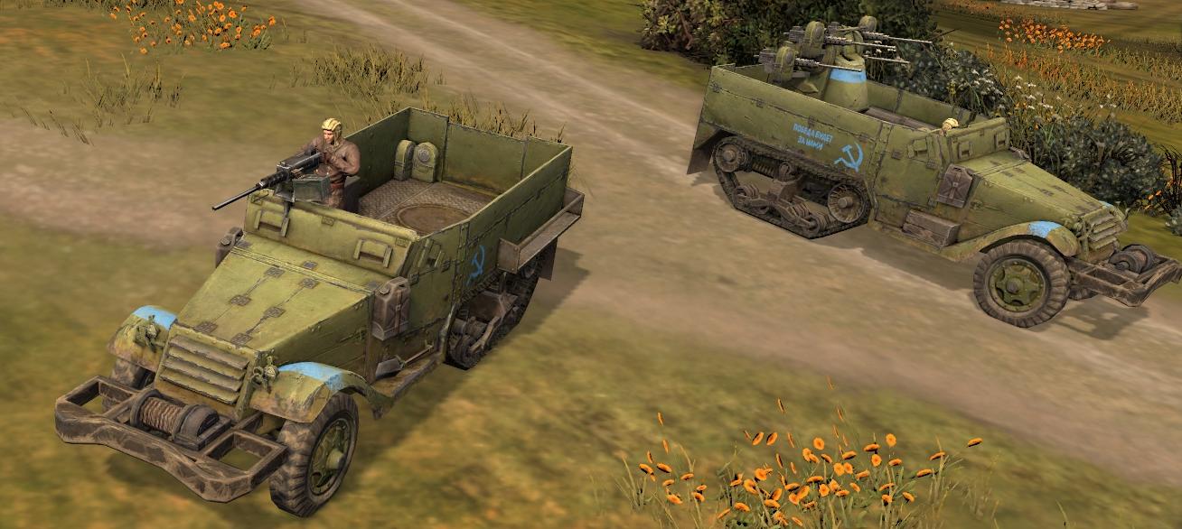 M5 Half-Track Transport