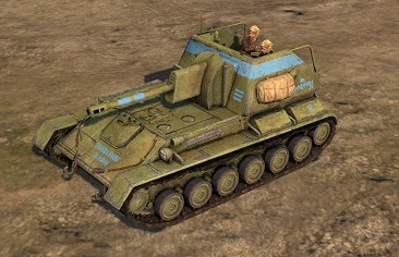 SU-76M Assault Gun