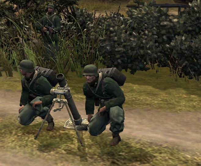 GrW 34 Mortar Team