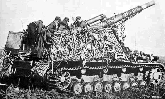 Hummel Self Propelled Artillery