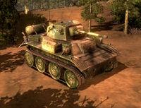 Unit Tetrarch Tank Daylight