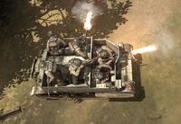 Unit Bren Carrier Loaded Infantry Firing