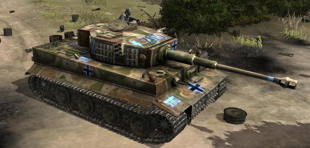"Tiger Tank ""205"""