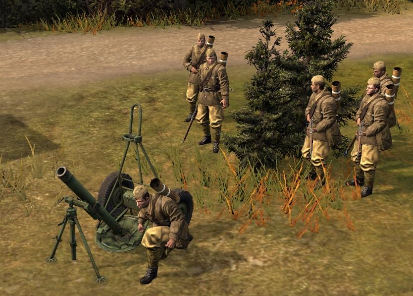 HM-38 120mm Mortar Squad