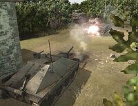 Unit Hetzer Ambush