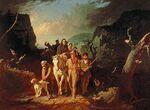 Daniel Boone Escorting Settlers through the Cumberland Gap by George Caleb Bingham.jpg