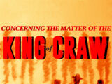 Concerning the Matter of King of Craw
