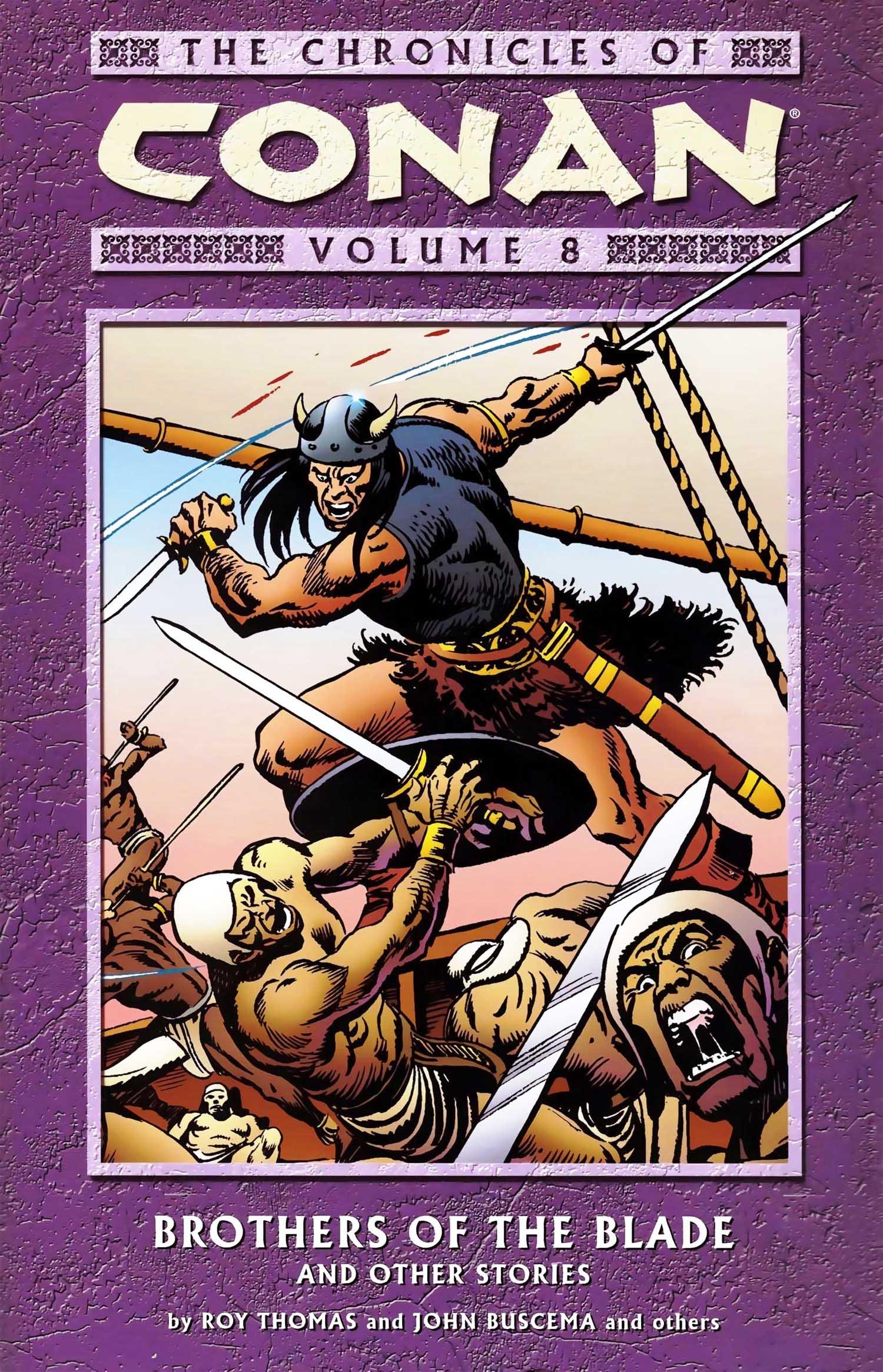 The Chronicles of Conan Volume 8