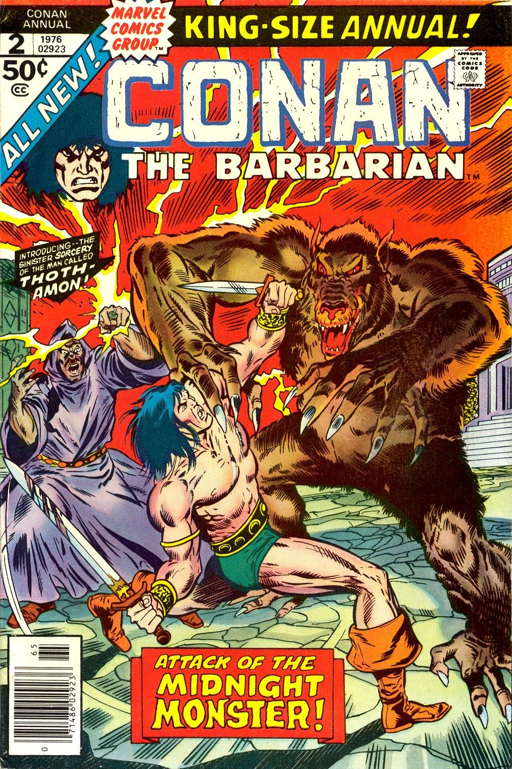Conan the Barbarian Annual Vol 1 2