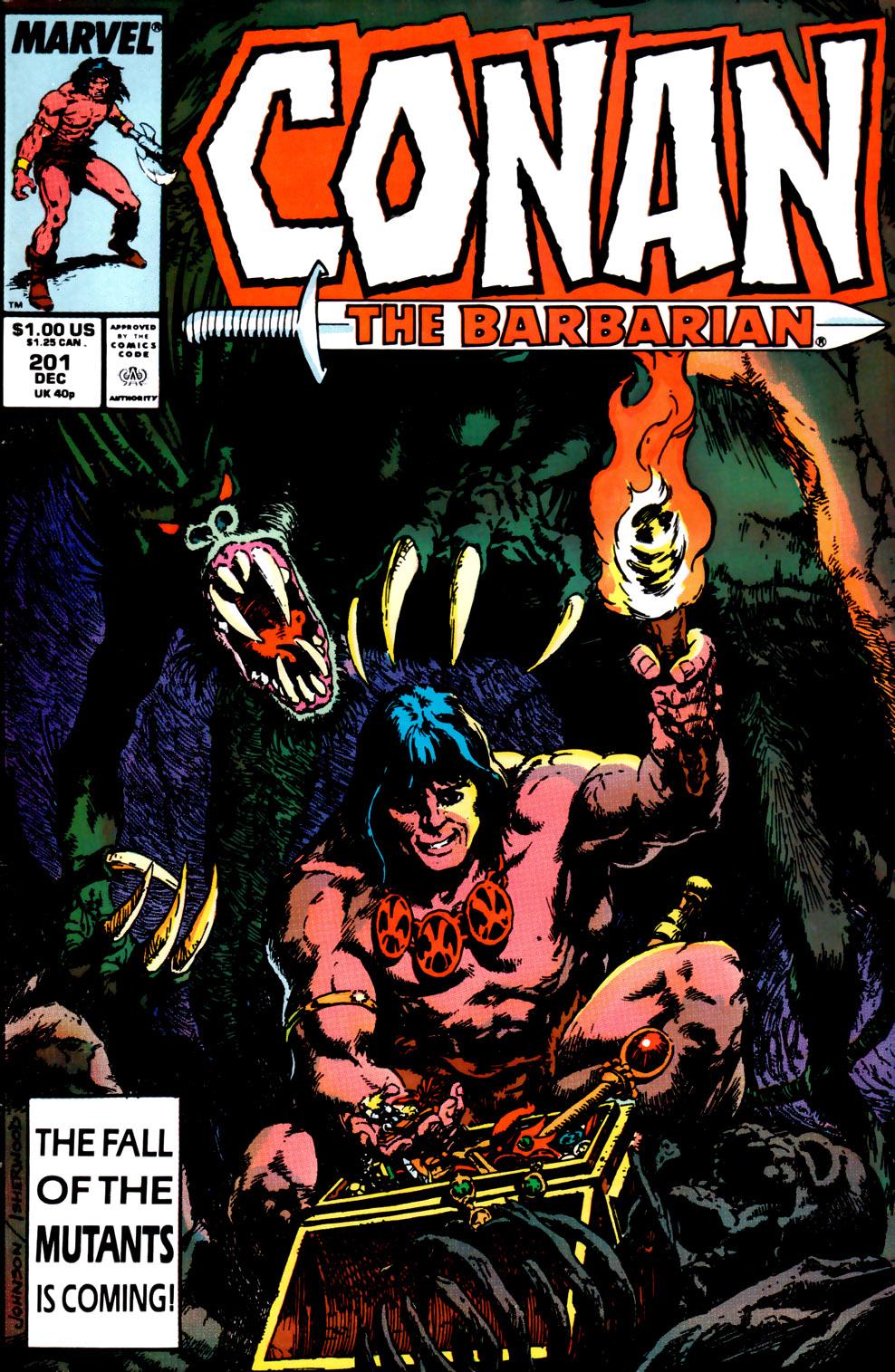 Conan the Barbarian 201