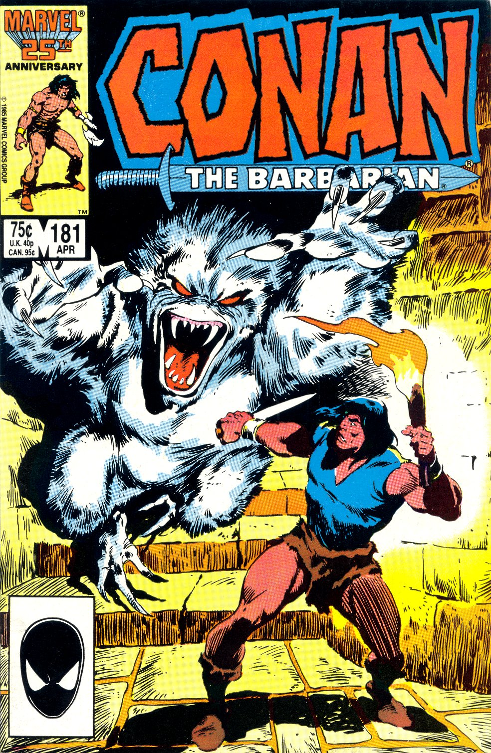 Conan the Barbarian 181