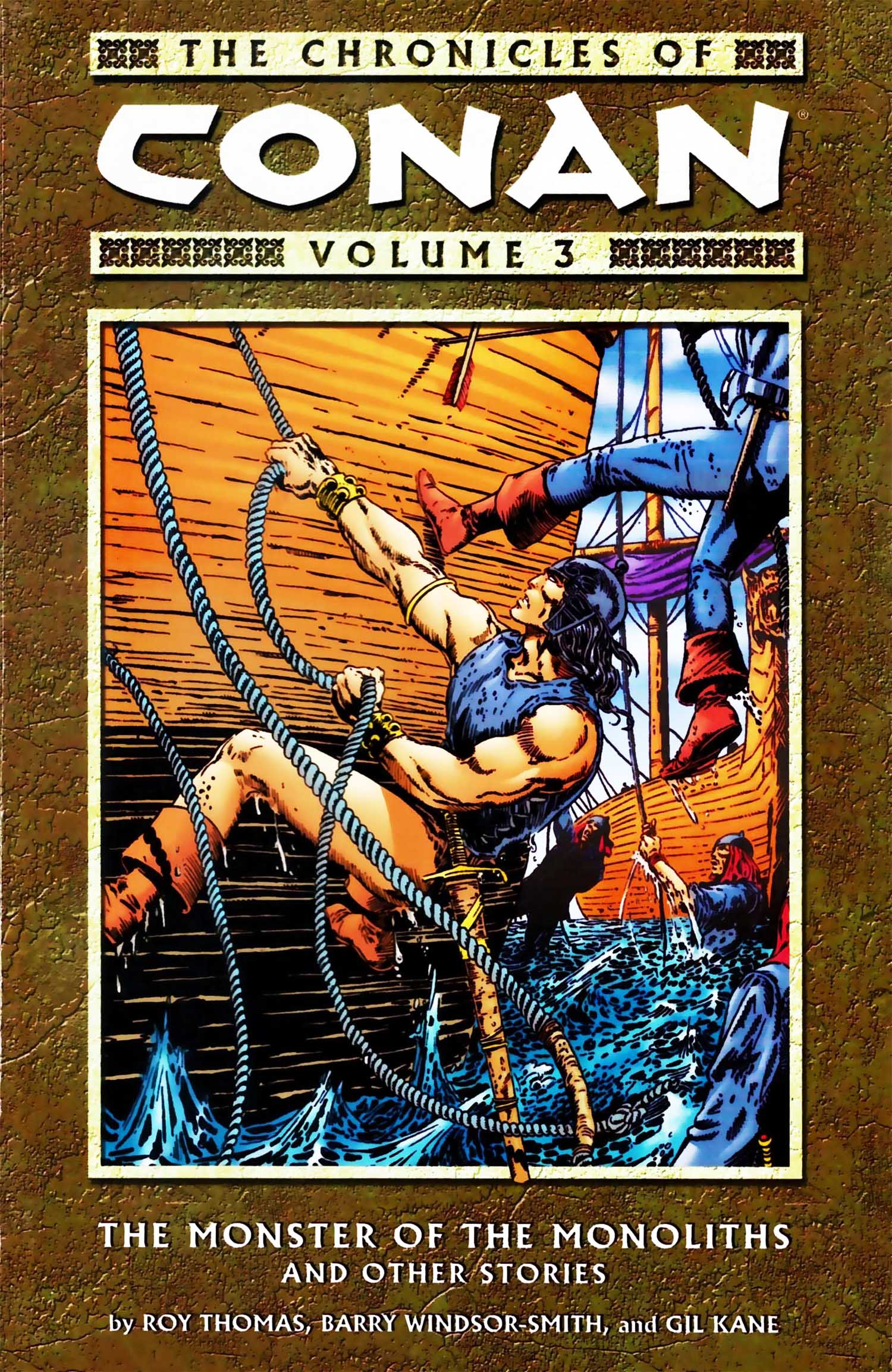 The Chronicles of Conan Volume 3