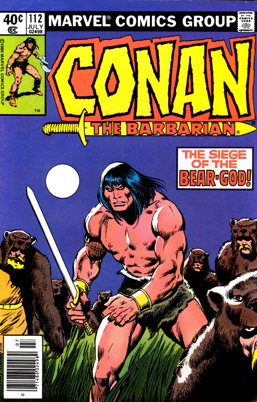 Conan the Barbarian 112