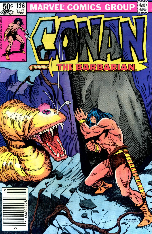 Conan the Barbarian 126