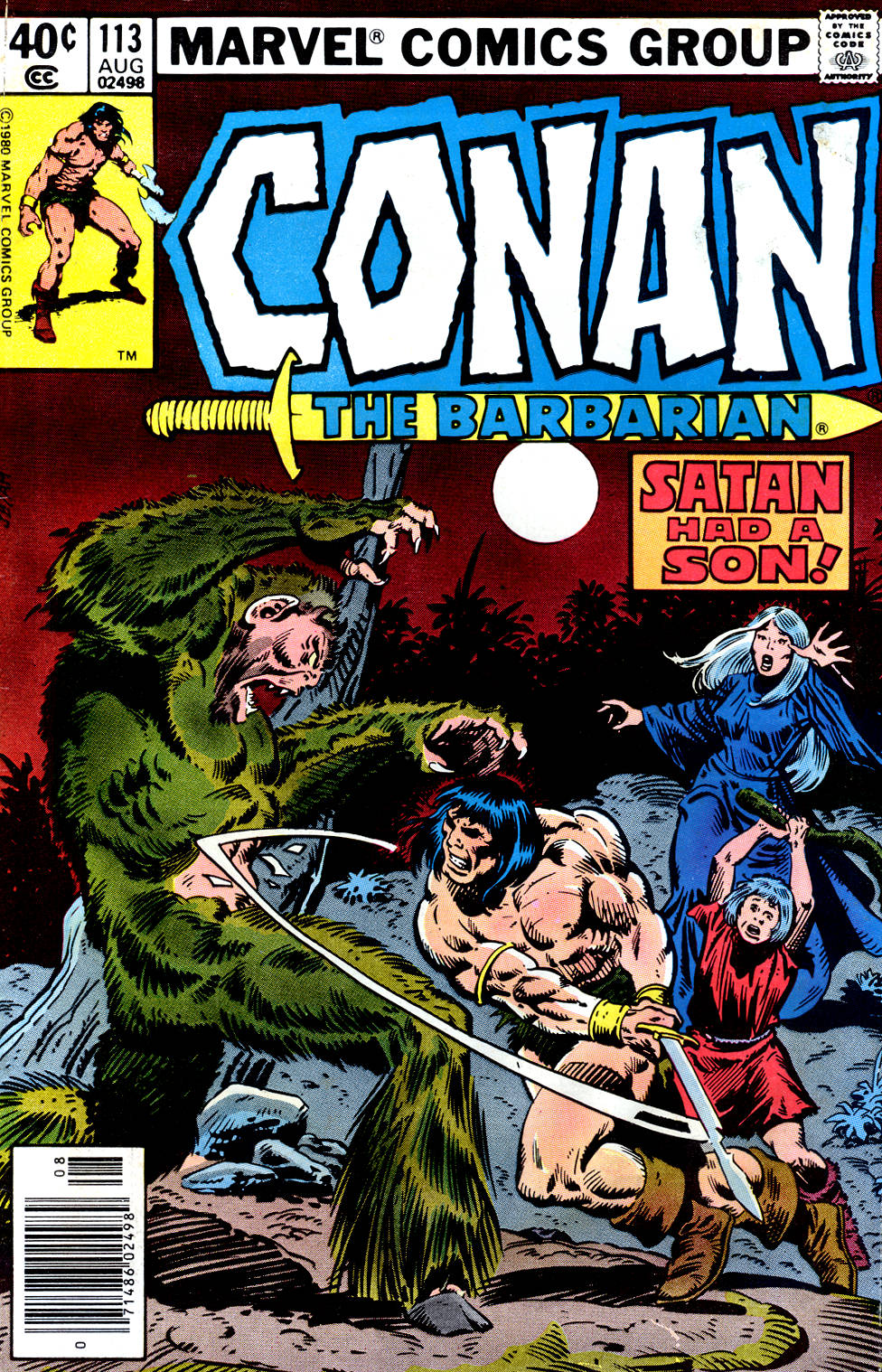 Conan the Barbarian 113