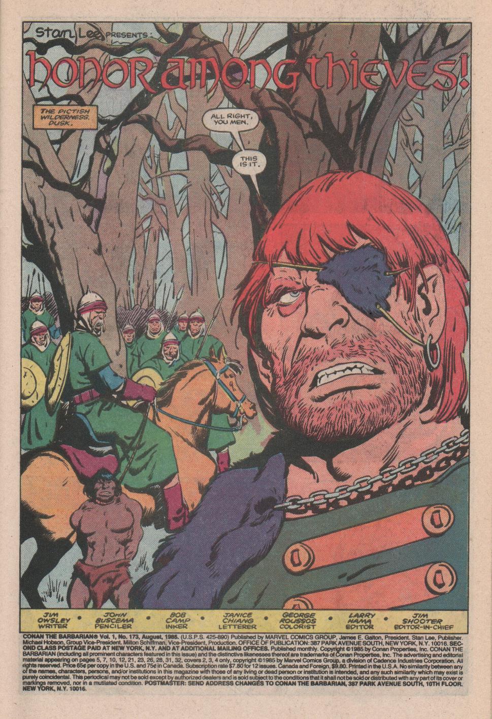 Conan the Barbarian 173