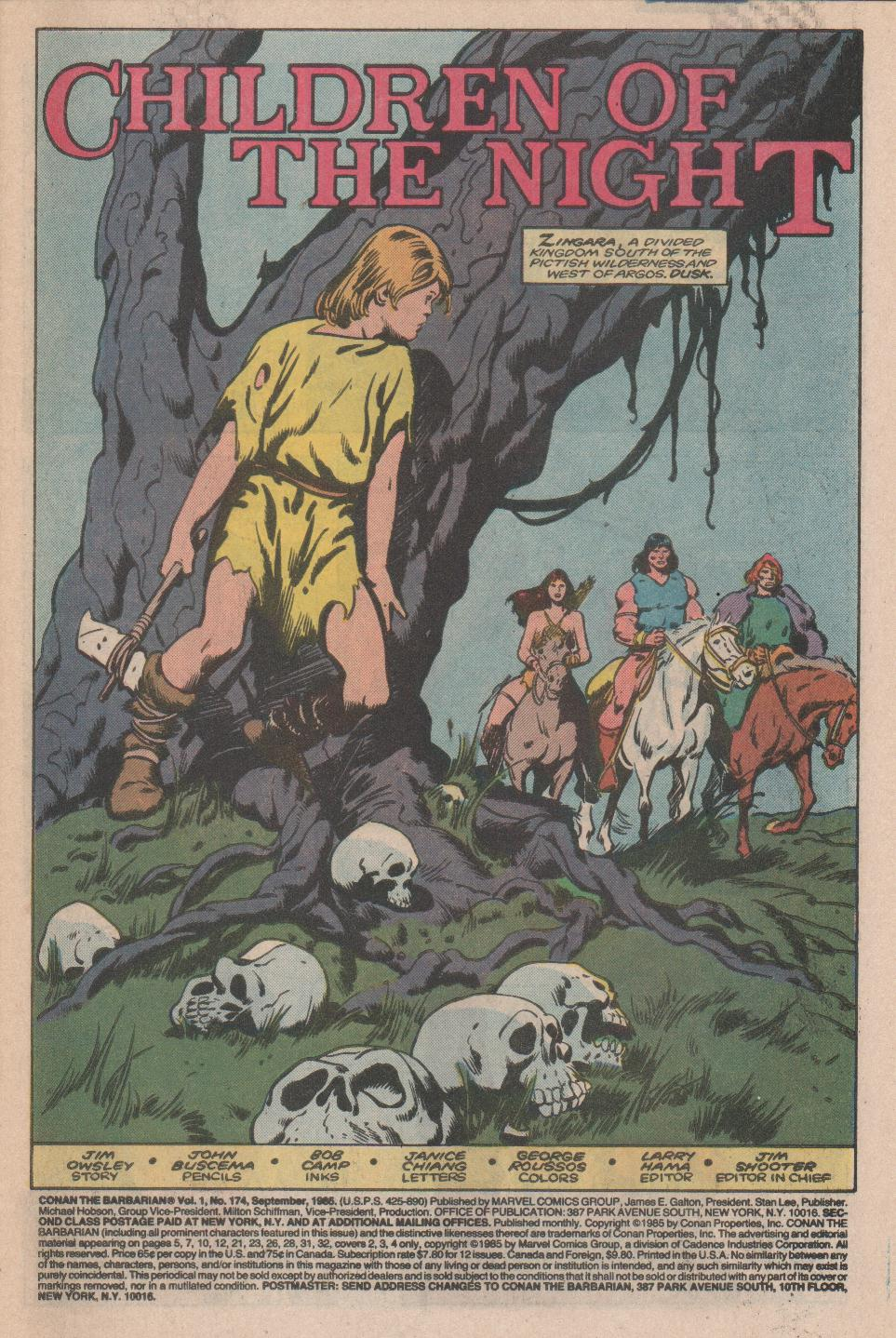 Conan the Barbarian 174