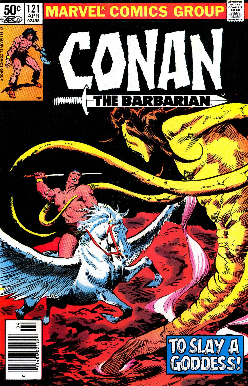 Conan the Barbarian 121