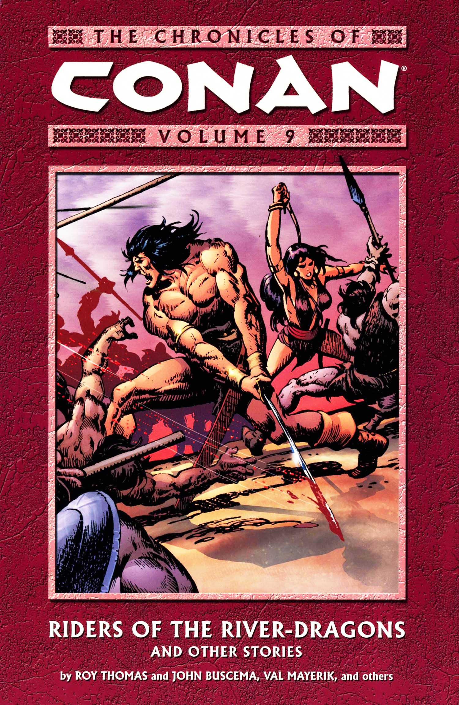 The Chronicles of Conan Volume 9