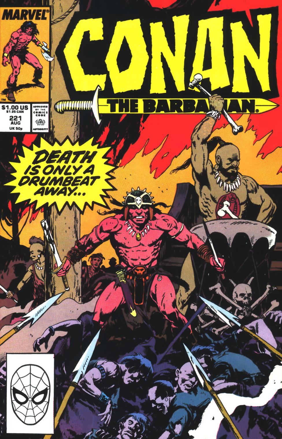Conan the Barbarian 221