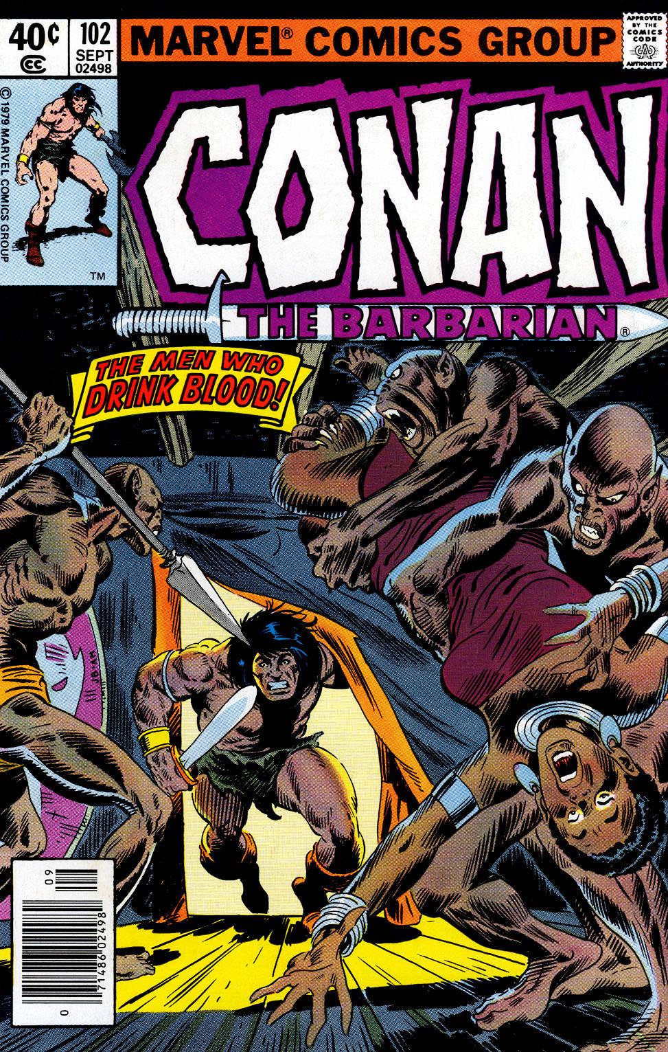 Conan the Barbarian 102