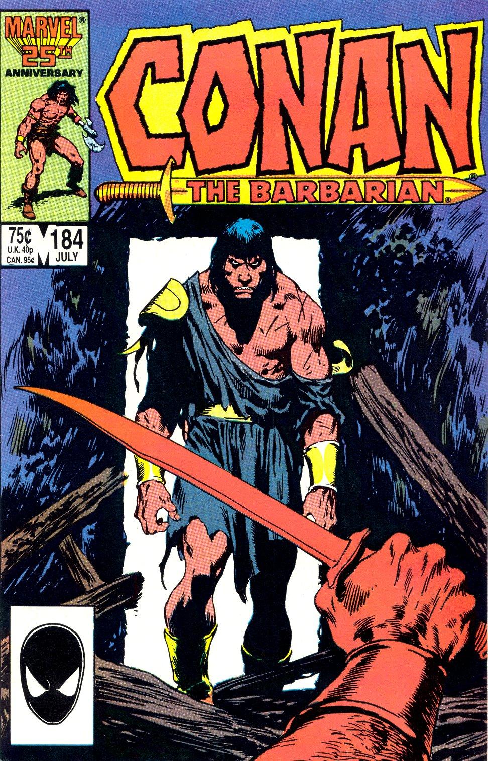 Conan the Barbarian 184