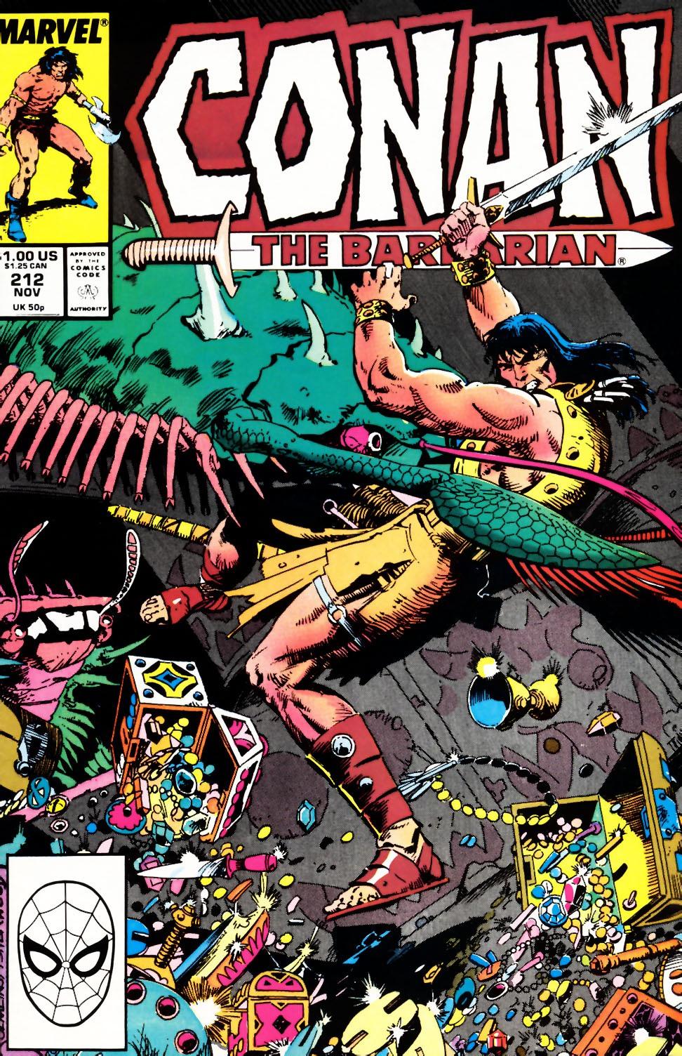 Conan the Barbarian 212
