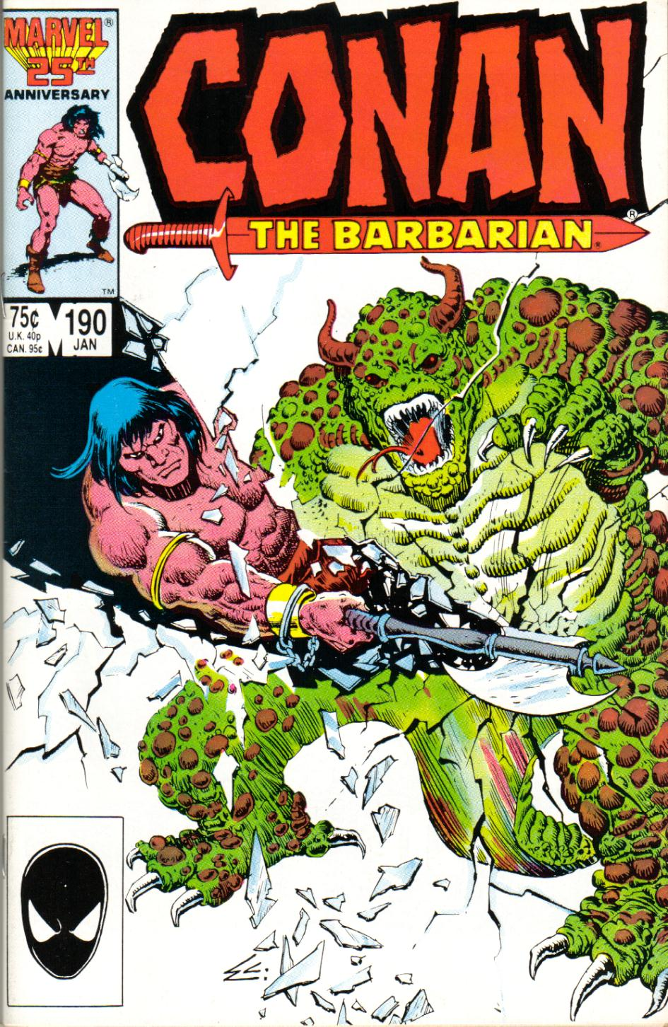 Conan the Barbarian 190