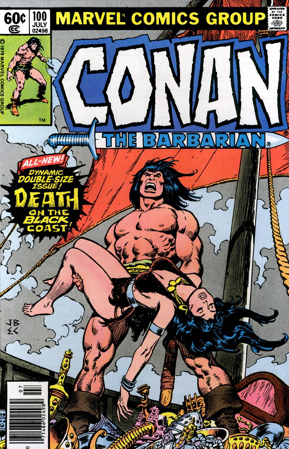 Conan the Barbarian 100