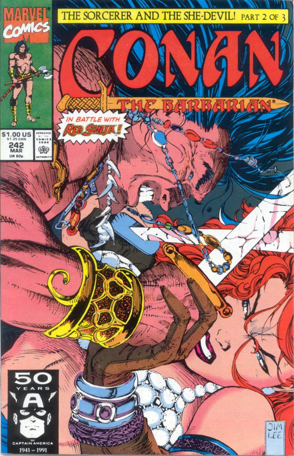 Conan the Barbarian 242