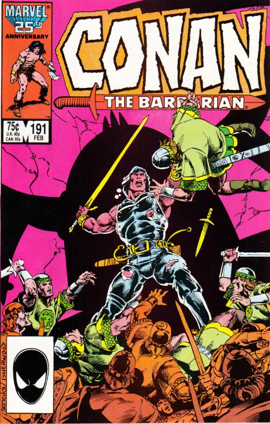 Conan the Barbarian 191