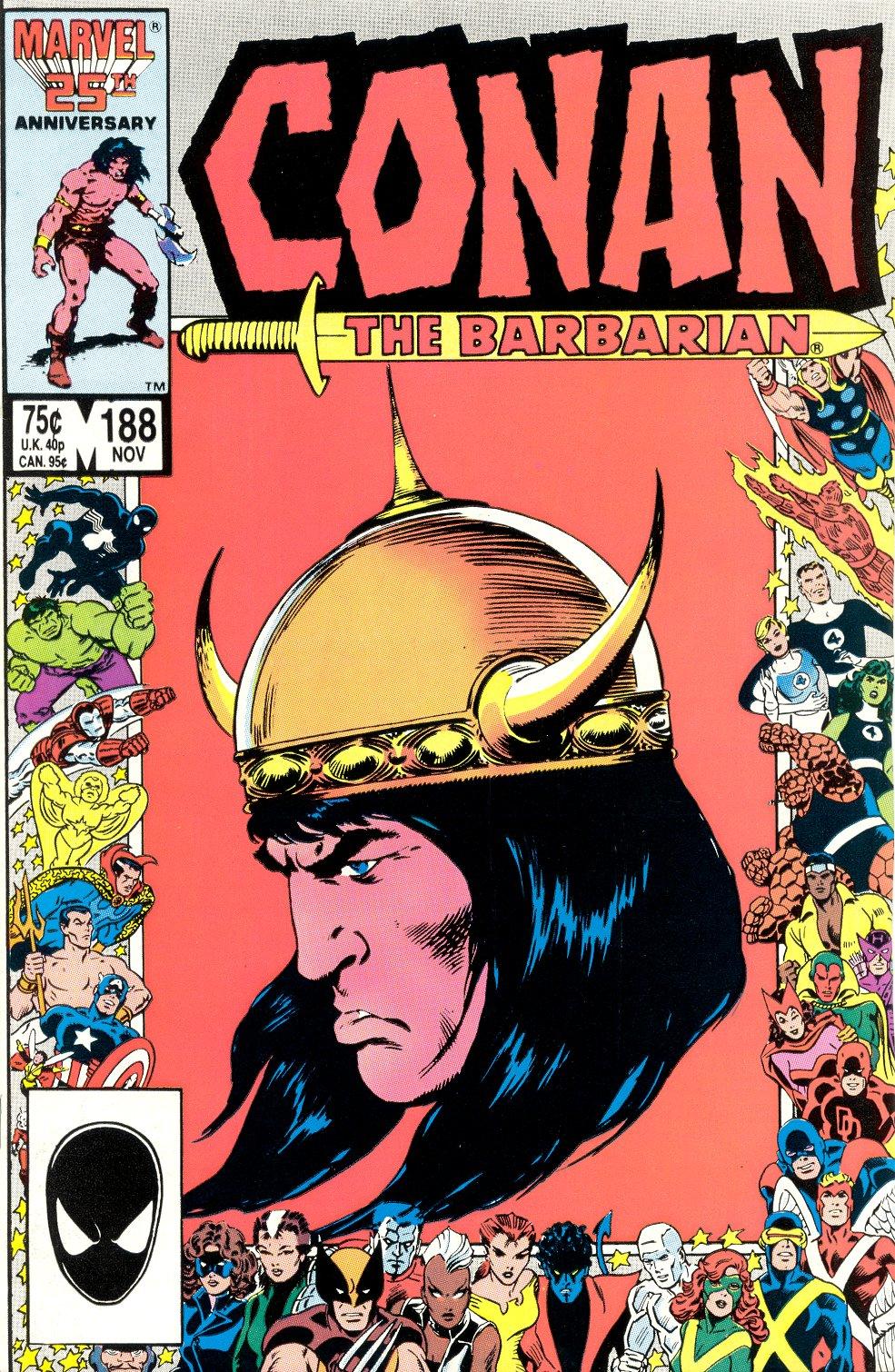 Conan the Barbarian 188