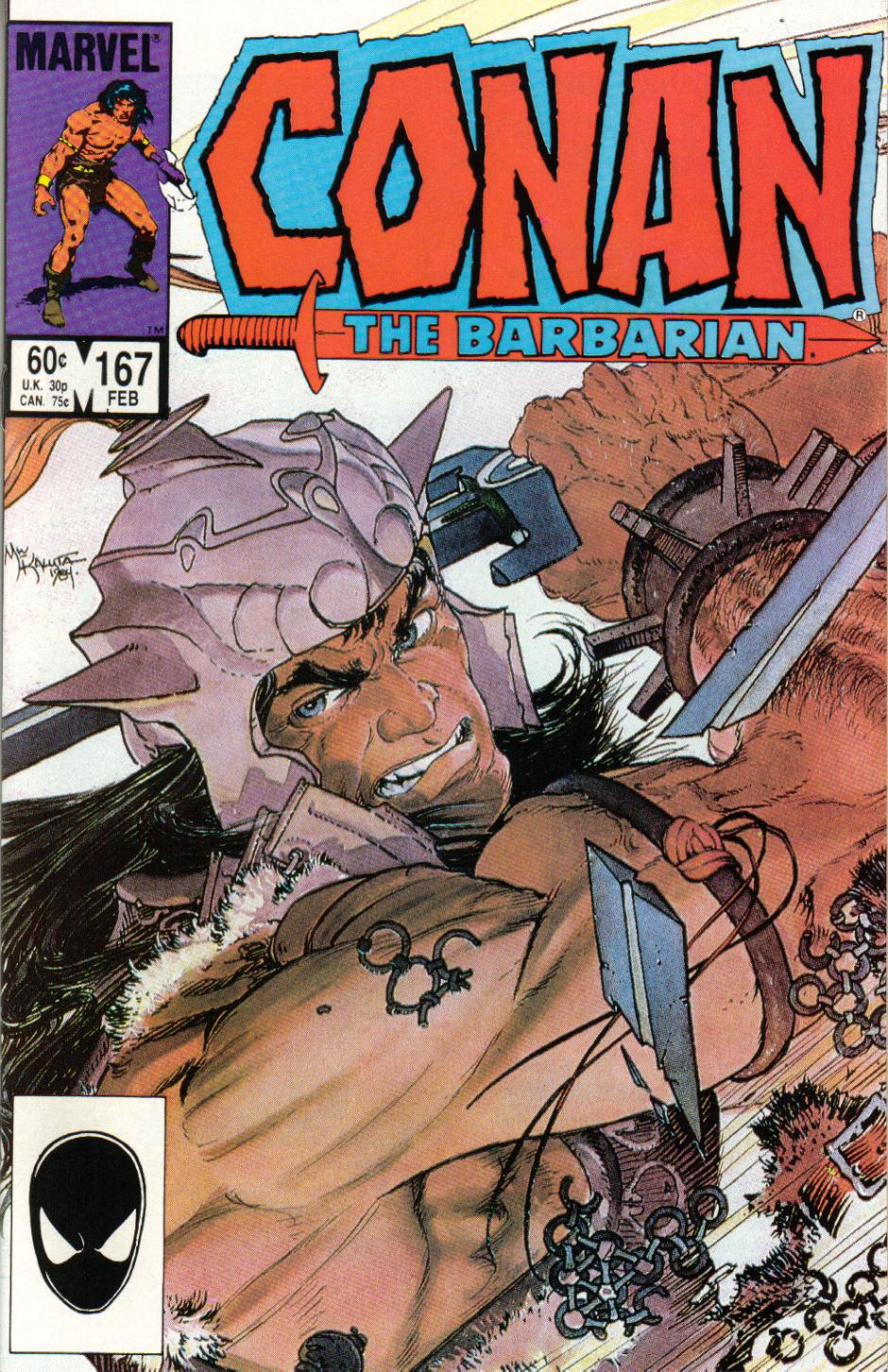 Conan the Barbarian 167